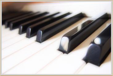 ピアノのお掃除に