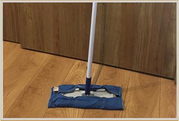 床磨き用として